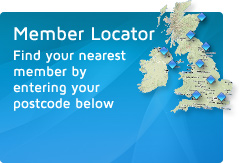 Member Locator - Find your nearest member by entering your postcode below